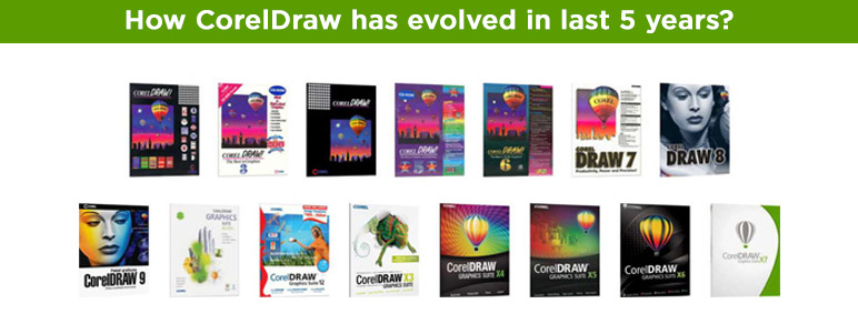 How CorelDraw has evolved in last 5 years